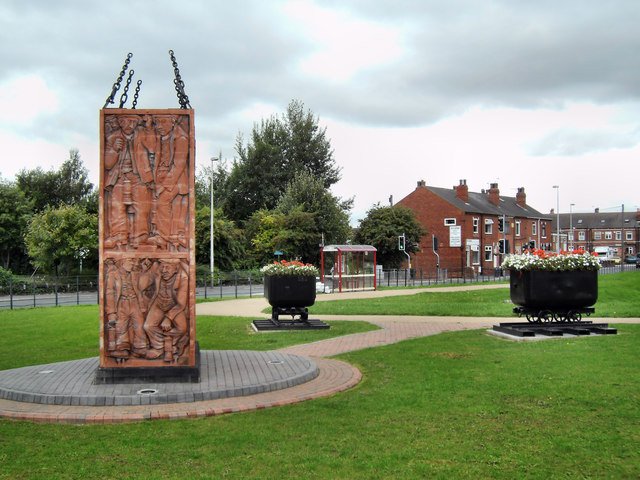 Allerton Bywater Colliery Memorial