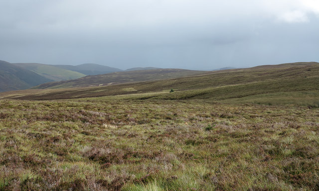 Moorland east from near Bwlch y Dwr