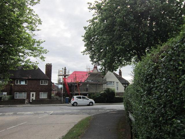 Westfield Rise at Barrow Lane, Hessle