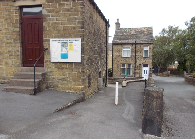 Village scene - Lower Cumberworth