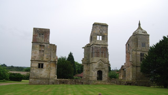 Ruins of Brambletye House