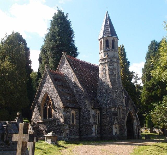 Henley-on-Thames Fair Mile Nonconformist Cemetery Chapel