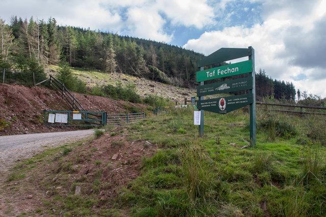 Taf Fechan, Brecon Beacons