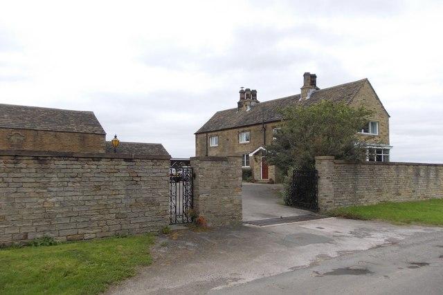 Papist Hall on Papist Hill, Lower Denby