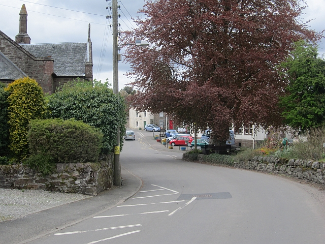 Station Road, Muthill