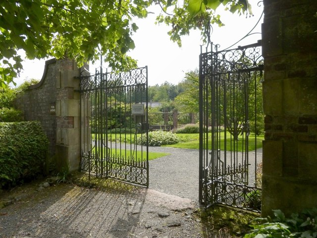 Gate of walled garden