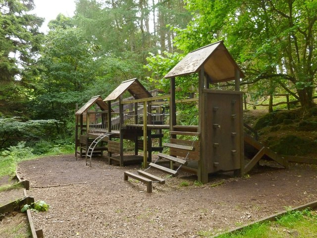 Play area in Finlaystone Estate