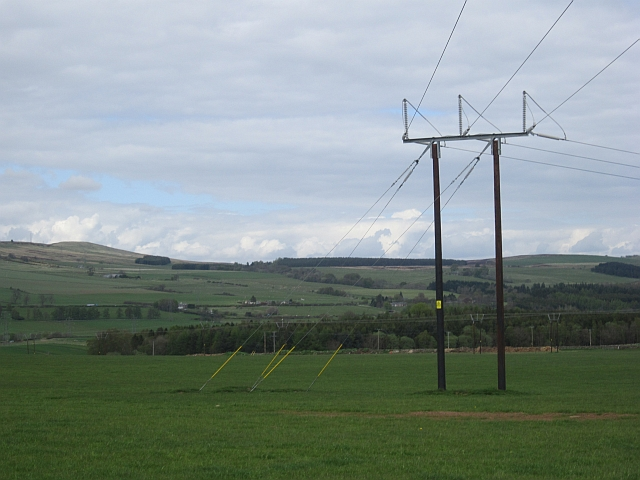 New power line, Greenhead