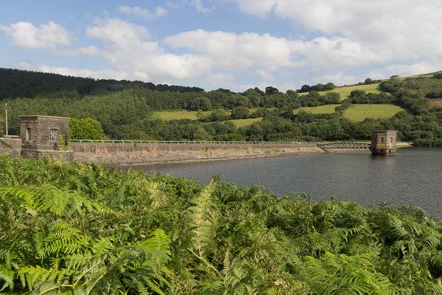 Talybont Reservoir, Brecon Beacons, Wales