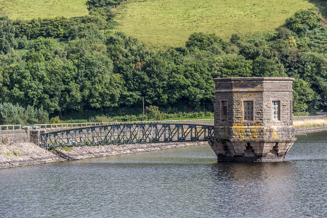 Pumping Station, Talybont Reservoir, Brecon Beacons, Wales