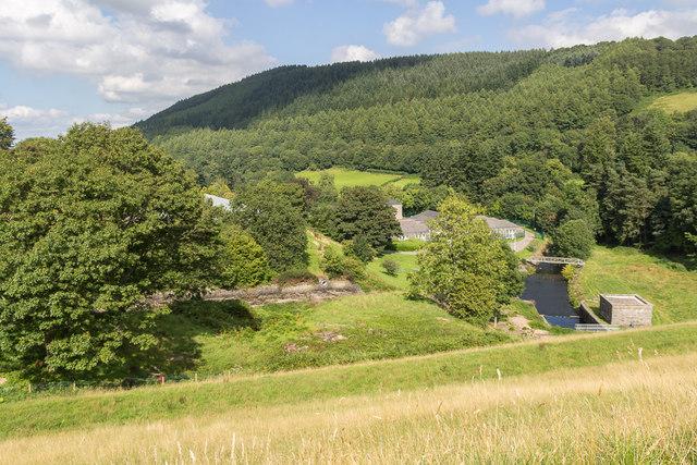 Waterworks, Talybont Reservoir, Brecon Beacons, Wales