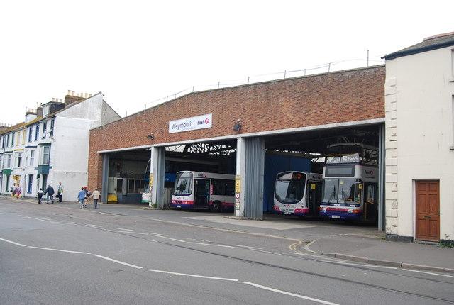 Weymouth Bus Depot
