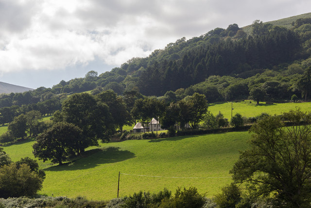 Countryside near Talybont Reservoir, Brecon Beacons, Wales