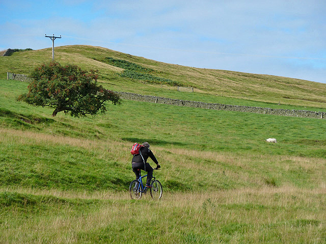 A Geographer heads for the hills