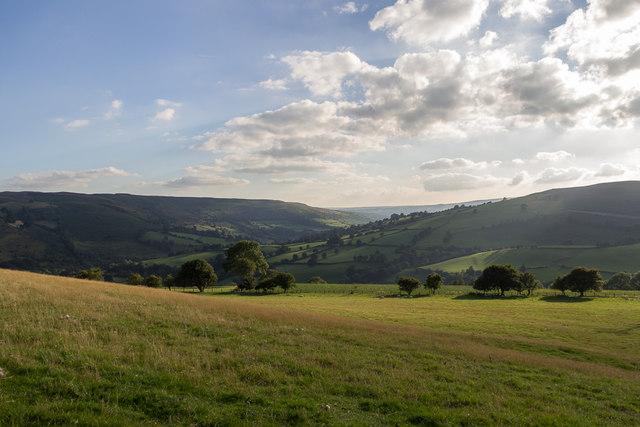 Farmland near Cregrina, Powys