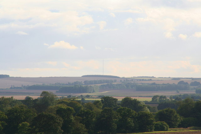 Belmont Transmitting Station, from Tetney church tower roof
