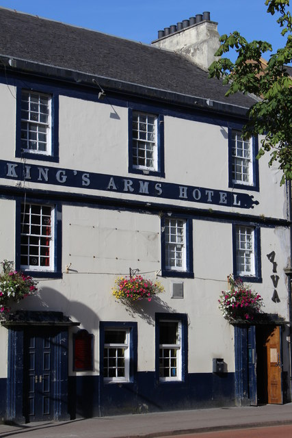 King's Arms Hotel, High Street, Irvine