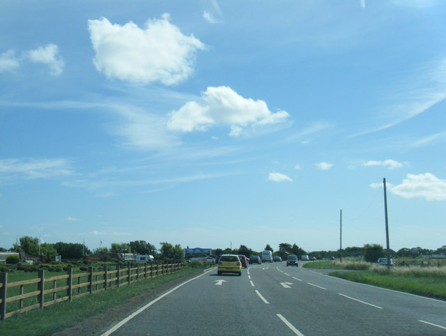 A158 by South View Leisure Park
