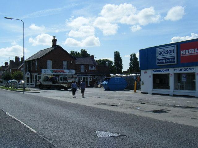 Burgh Road business premises