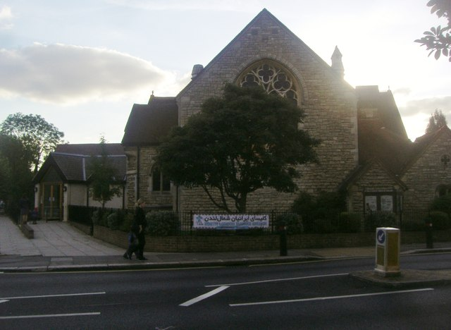 St Paul's Church on Long Lane, Finchley