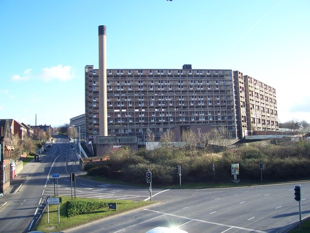 Park Hill Flats in March 2008