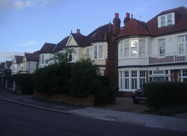Victorian villas on Etchingham Park Road