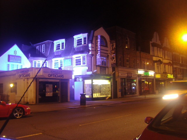 Shops on Ballards Lane, Finchley