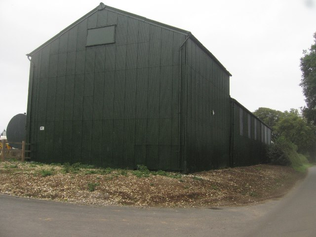 Repainted barn