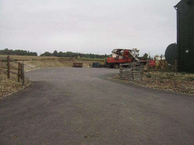 Access for Blandy's Farm
