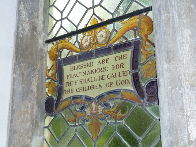 St Augustine of Canterbury, Upton Lovell: stained glass (4)