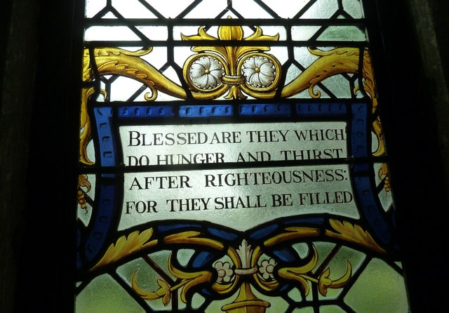 St Augustine of Canterbury, Upton Lovell: stained glass (5)