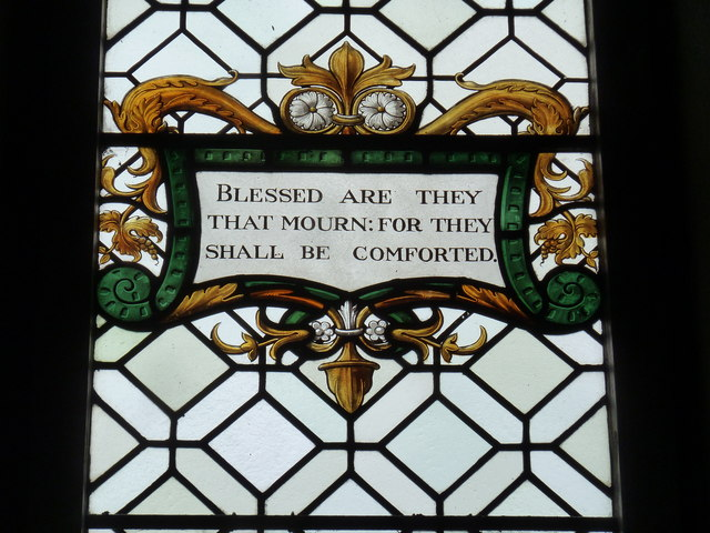 St Augustine of Canterbury, Upton Lovell: stained glass (6)