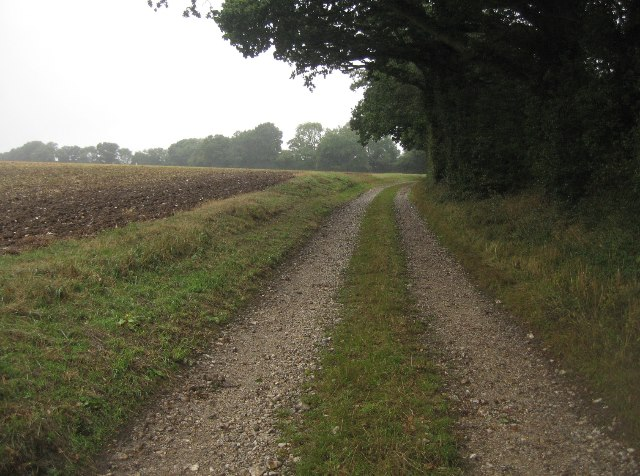Well maintained farm track