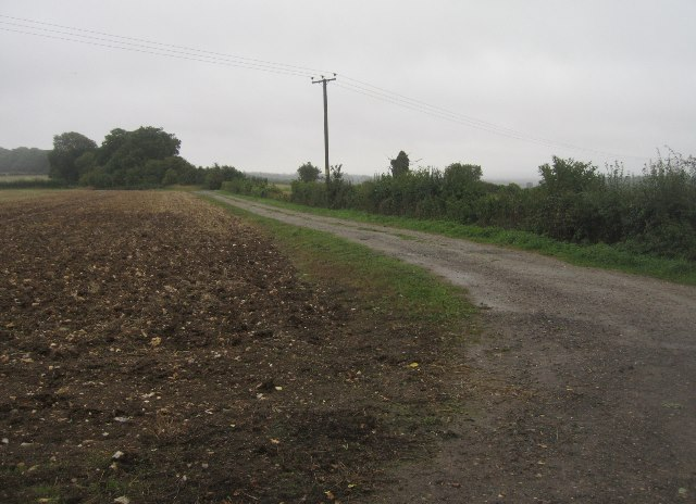 Wayfarer's Walk south of Freemantle Farm