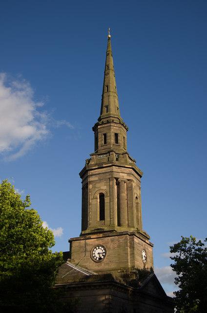 Spire, St Paul's Church, Birmingham