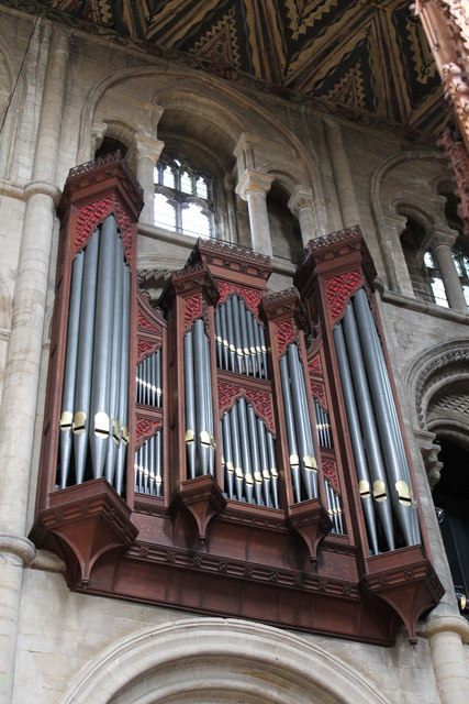 The Organ, Peterborough Cathedral