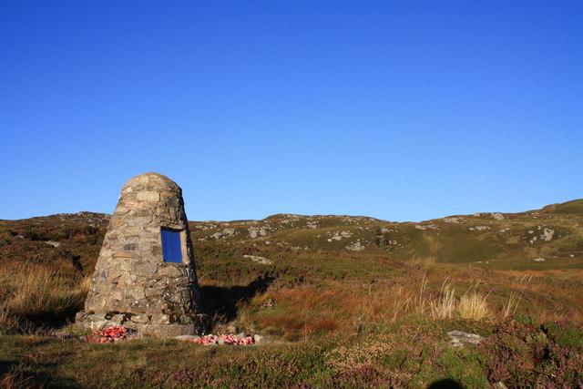 Chinook memorial.