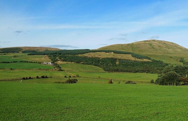 Towards Corsencon Hill