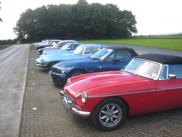 Classic cars at Buckland Abbey