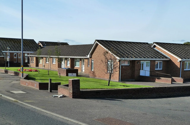 Afton Court, New Cumnock
