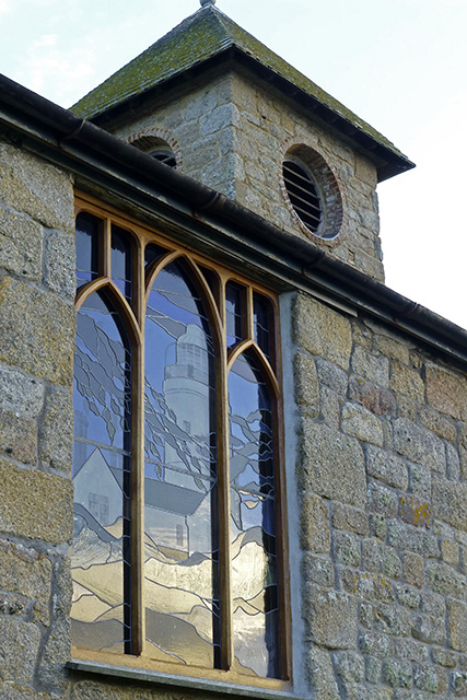 New window in St Agnes church