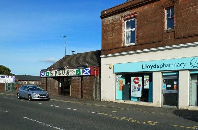 Shops in New Cumnock