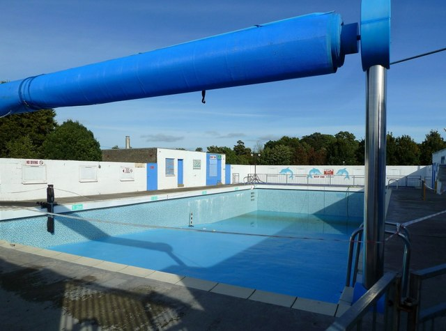 Open Air Swimming Pool New Cumnock Open Air Heated