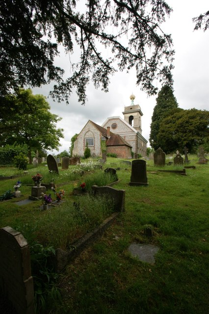 The Church of St Lawrence, West Wycombe