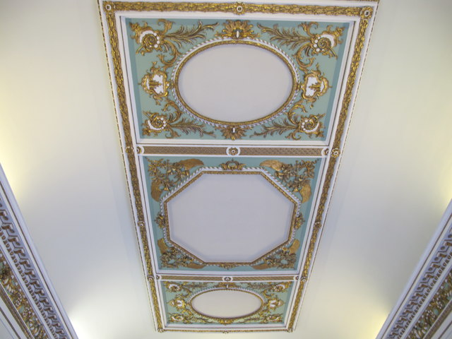Croome Court, saloon ceiling