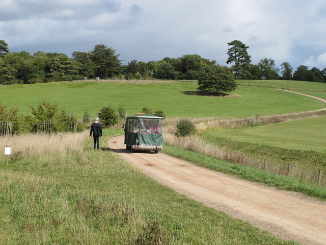 Croome Court, shuttle for disabled visitors