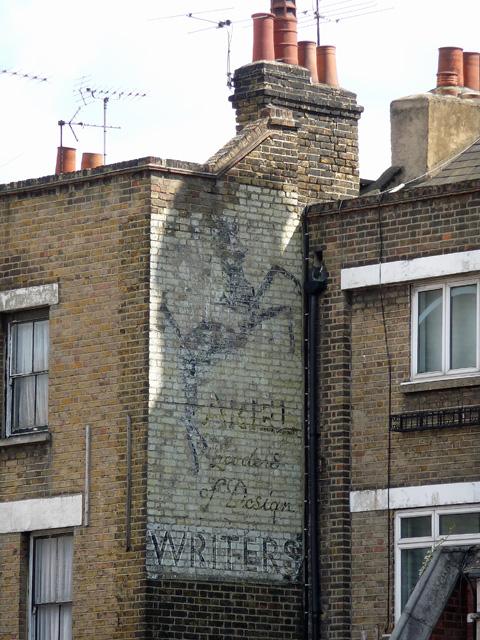 Ghost sign, Kennington Lane