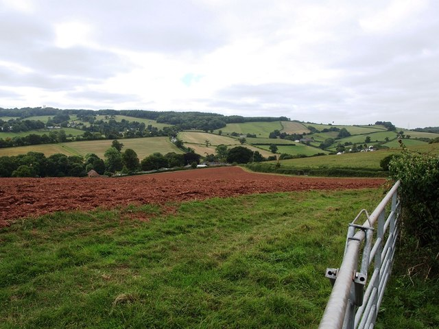 Newly ploughed field next to Manstree Road