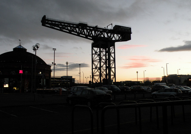 Clydeport sunset