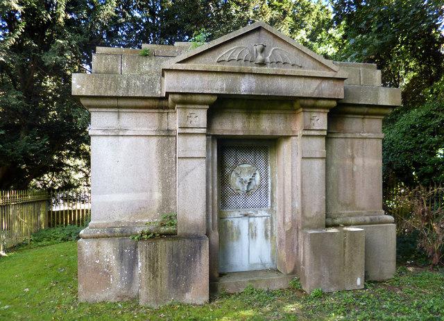 Mackenzie Mausoleum, Fawley Churchyard